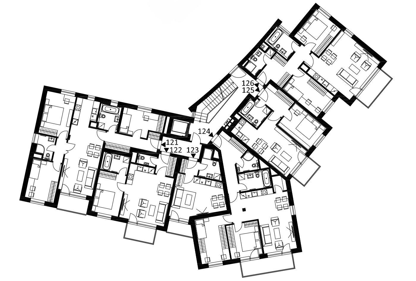 Budova 1 - 2. poschodí