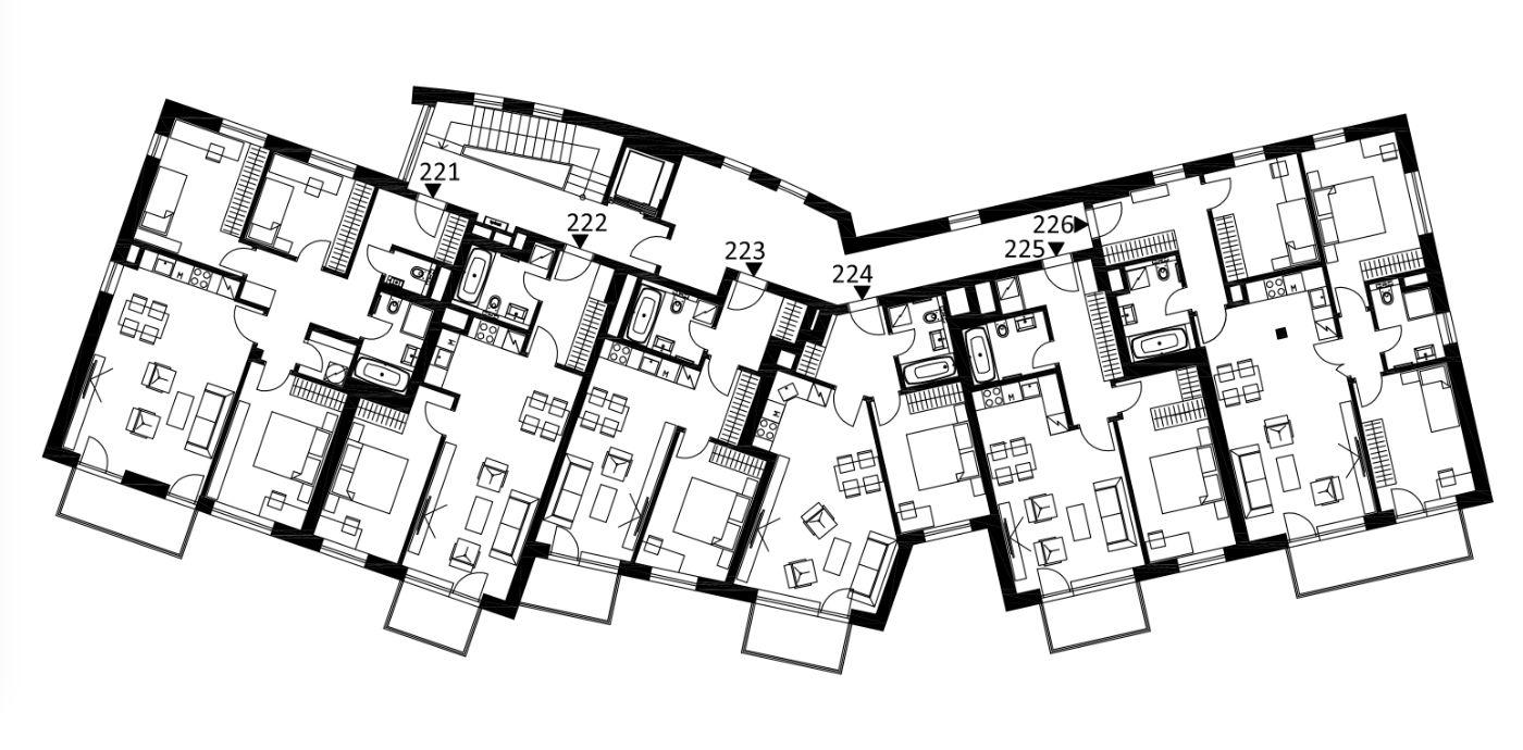 Budova 2 - 2. poschodí