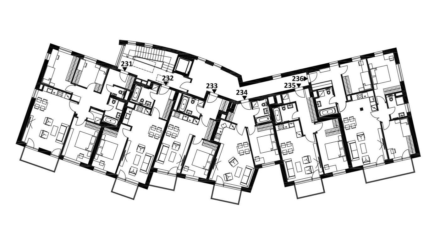 Budova 2 - 3. poschodí