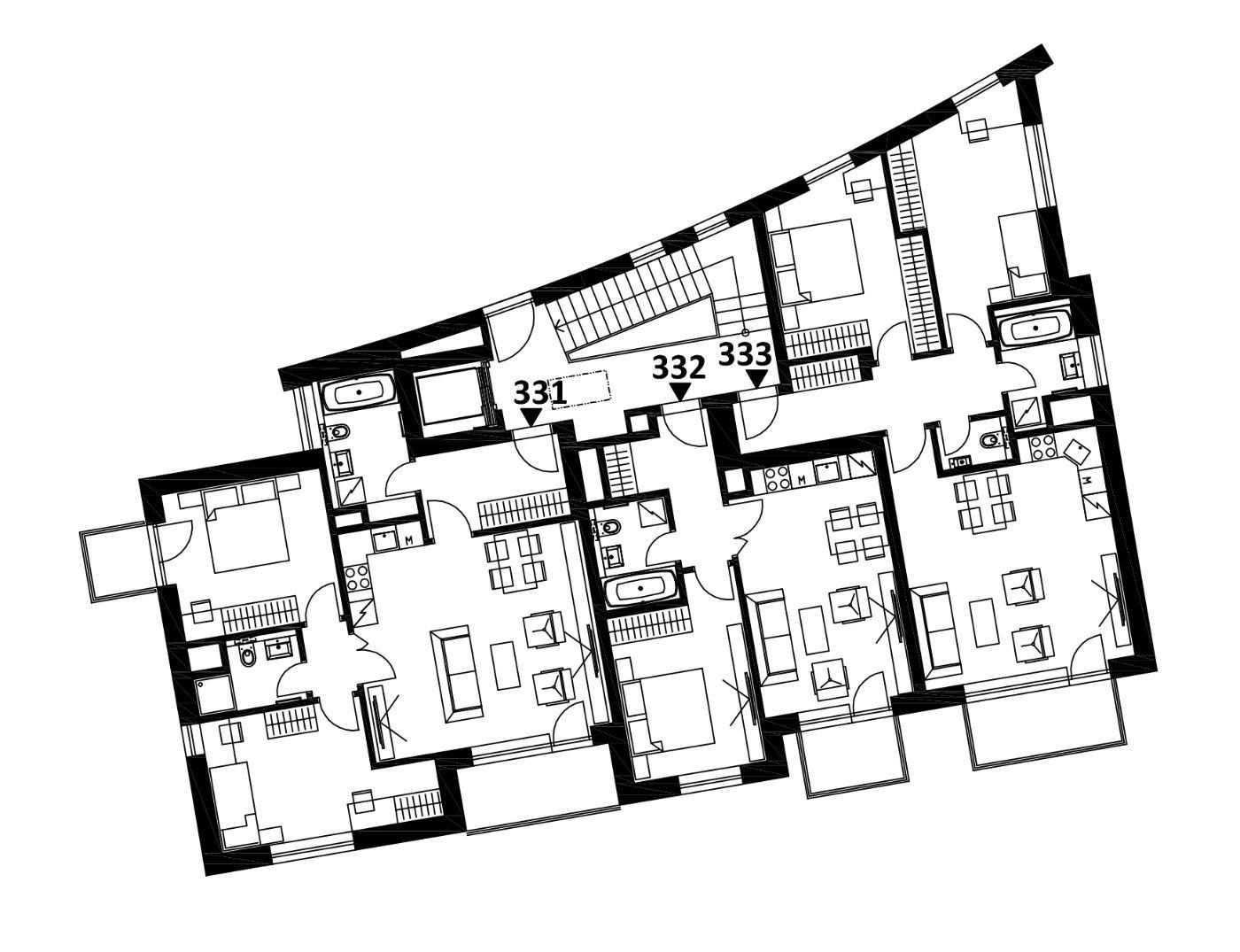 Budova 3 - 3. poschodí